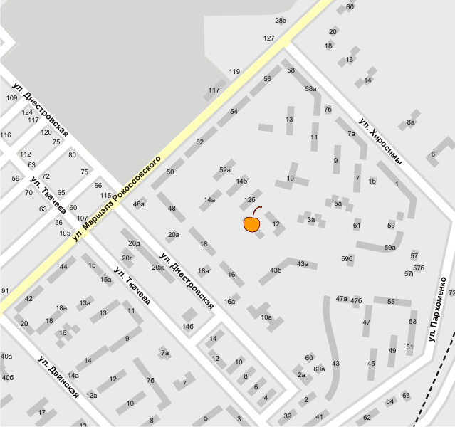 Бибигон на карте
